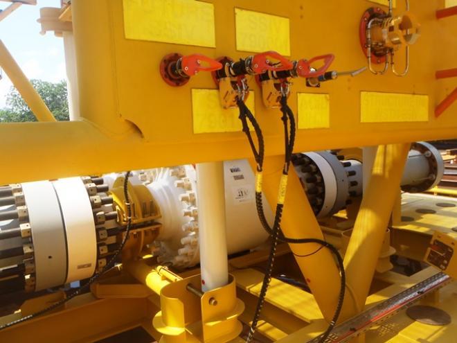 Technip Oceania Small Bore Tubing Mqc Plate Instrument